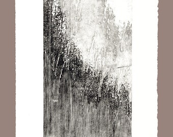Original Drypoint Engraving Graphics Technique. Signed by the artist.  Unframed. Haine Miller Paper used.