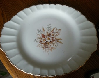 American Limoges Sundale 22K Gold edging...Serving platter