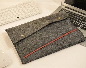 "Felt 13 Macbook Pro Sleeve , Felt 13 Macbook Pro Retina Sleeve , Felt 2016 15"" Macbook Pro Sleeve , Felt 15"" Macbook Pro Retina Sleeve  #204"