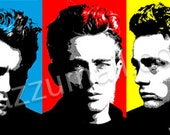 Pop Art Portrait painting...