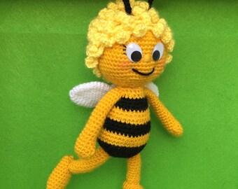 Maya the Bee Amigurumi Crochet Pattern