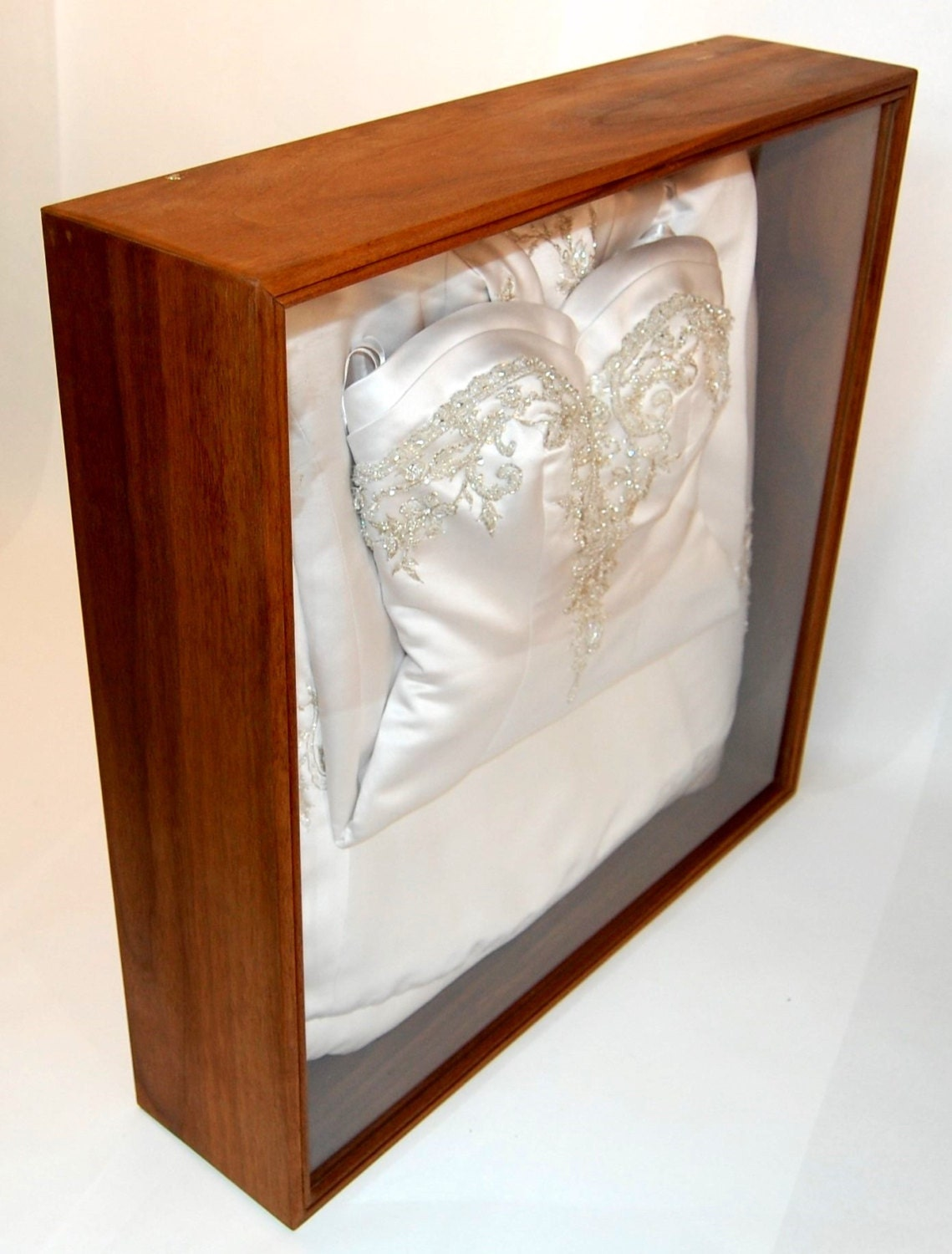 Wedding dress display case protect preserve and display your for Wedding dress shadow box for sale