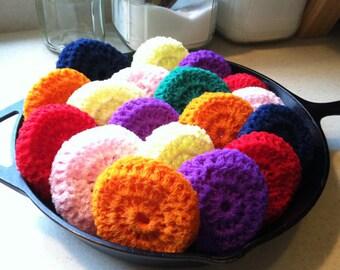 Crochet Scrubbie color varies