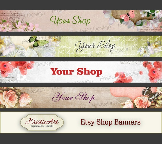 Etsy Shop Banners Set 5 Digital Banner Etsy By. Food Drive Flyer Template. Make A Cover Page. Restaurant Comment Card Template. Die Cut Box Template. Bill Payment Schedule Template. Free Scrapbook Templates. Best Sample Invoice Email Template. Graduation Table Decoration Ideas
