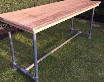 Scaffold board plank Bar/table urban industrial (8x3)