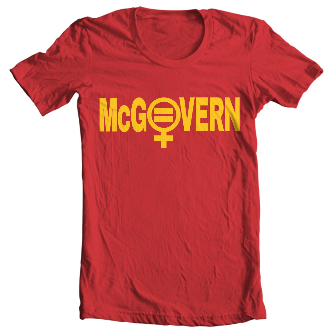 George McGovern Campaign Button Shirt