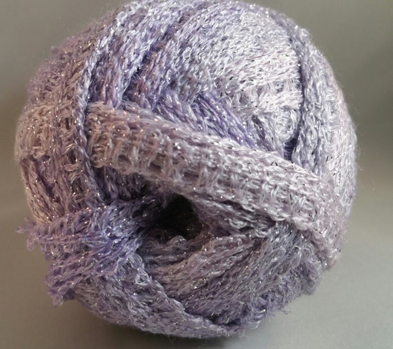 Knitting Patterns For Sashay Yarn : Red Heart Yarn Boutique Yarn Sashay Yarn Metallic by AgapeFibers