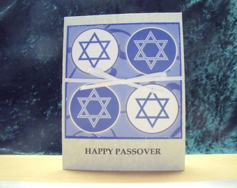 SALE!! Passover Card with Star of David