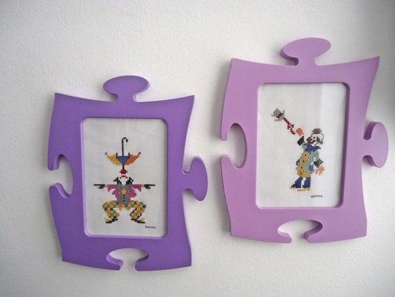 Cuadros infantilespunto de cruzhecho a mano marcos - Marcos para cuadros originales ...