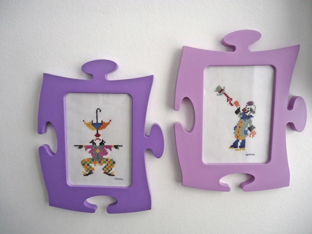 Cuadros infantilespunto de cruzhecho a mano marcos - Marcos de cuadros originales ...