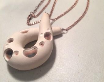 Faux Bone Necklace