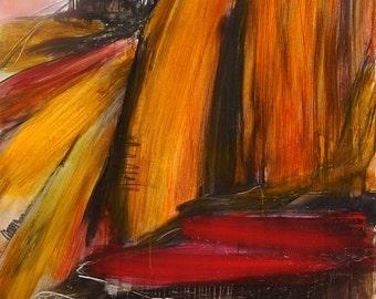 Abstract image orange
