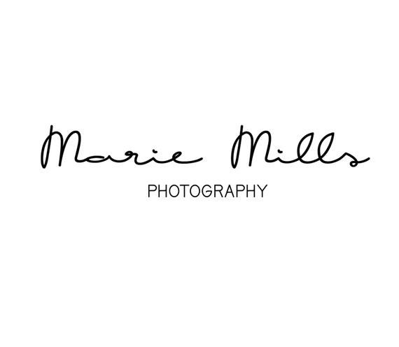 Premade calligraphy logo photography