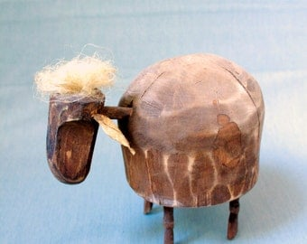 Wooden sheep!