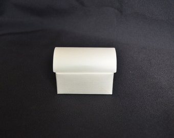White Trunk Paper Favor Boxes- Set of 12