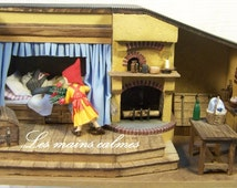 Little Red Riding Hood: Diorama