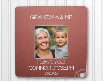 Personalized Grandma and Me Frame Grandma Frame Grandmother Frame Nana Frame Grandparent Frame Personalized Frame Grandma and Me IBFSMAG