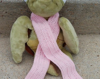 Light Pink Baby Scarf