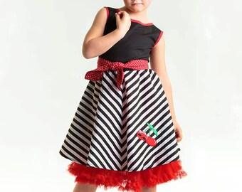 Girl Rockabilly Dress Cherrybelle