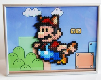 Flying Racoon or Cape Mario Framed or Unframed