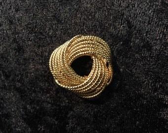 Vintage gold filled brooch