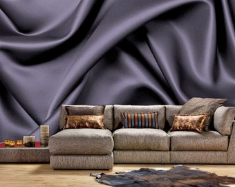 Satin Fabric Wall Mural, Wallpaper, Wall Décor, Wall Decal, Nursery And Room Part 55