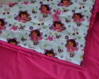 Dora the explorer blanket