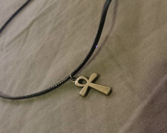 Egyptian Ankh Choker Necklace