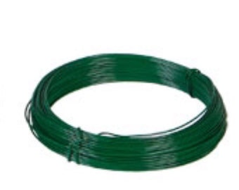 2 rolls of green floral wire, each 50 ft.