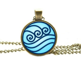 Water Tribe Necklace, Avatar the Last Airbender Jewelry