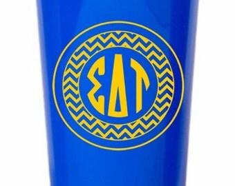 Sigma Delta Tau Monogrammed Giant Plastic Cup