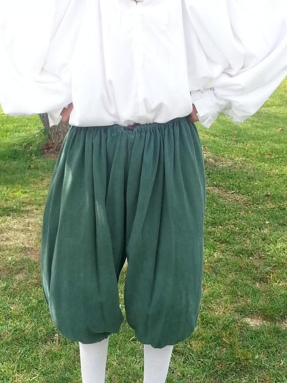 Renaissance Pirate Cosplay SCA LARP drawstring pants
