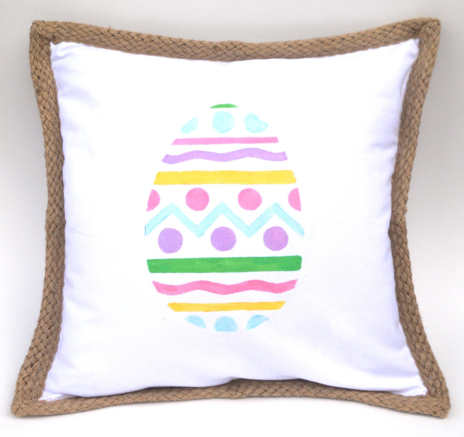 Decorative Pillows For Easter : Easter Egg Pillow Cover