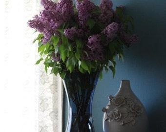 Lilacs on my bureau.