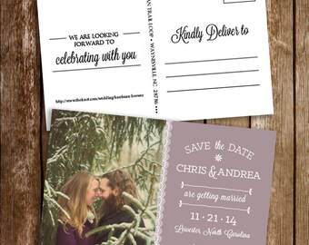 Save the Date Postcard {deposit}