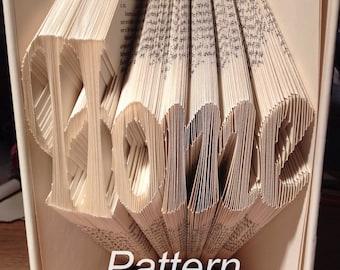 Home Book Folding Pattern