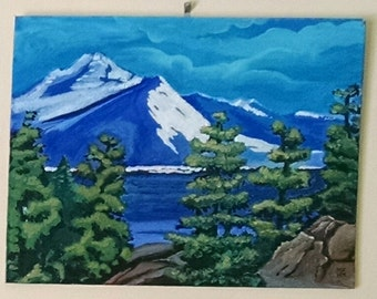 Mountains and Pine