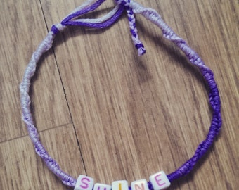 Woven Friendship Bracelet for S.A.L.V.E International
