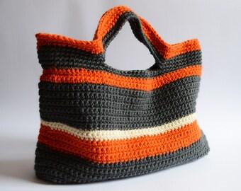 Crochet bag Handmade crochet handbag Beach bag
