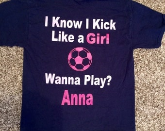 Custom Personalized Soccer Shirt