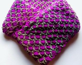 Elegant, Knitted-Handmade Ladies Scarf