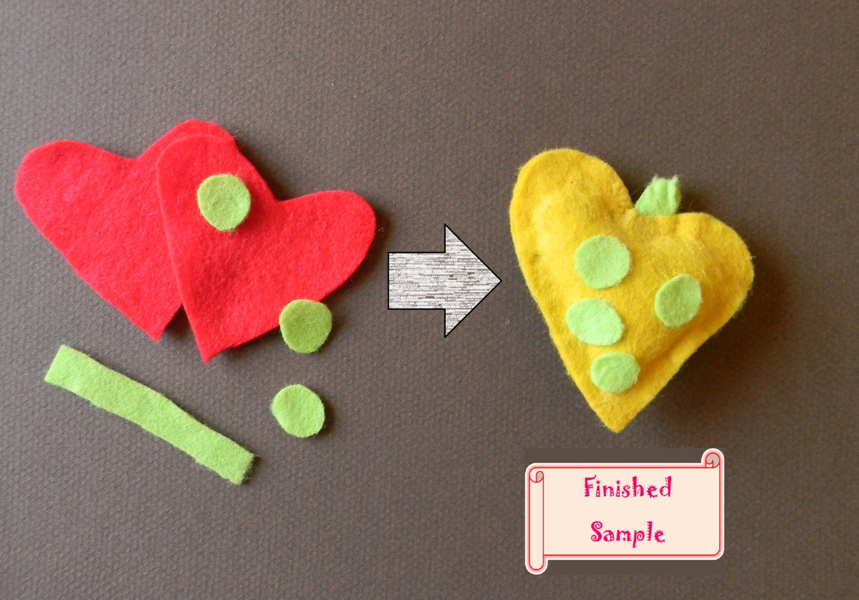 Pre Cut Felt Pieces Craft Kit Diy Animal And Objects Felt