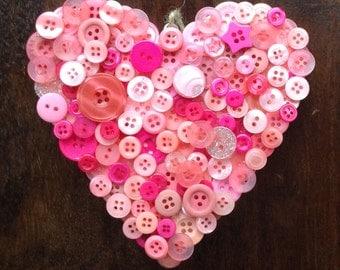 Button Hearts