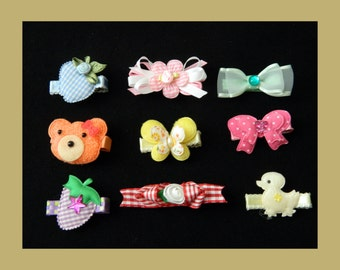 Baby Hair Clips Set 1