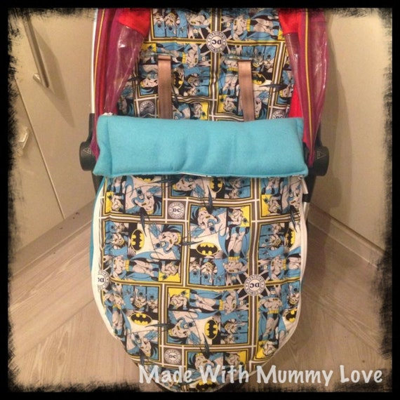 Batman Fabric Custom Handmade Universal Pram Stroller