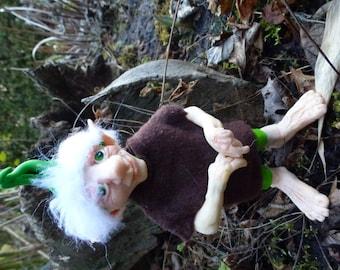 Alwan - OOAK-Kunst-Puppe, handgefertigt, Polymer clay