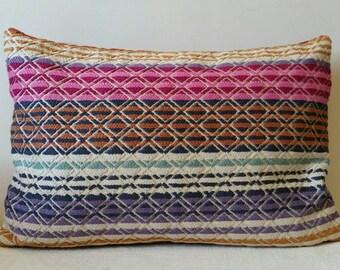 Woven Jacquard Cushion - 45x30cm