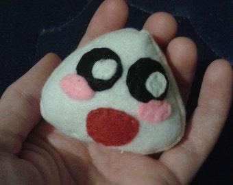 Onigiri Plushie (you choose the face)