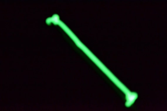 Items similar to 2pack glow in the dark fishing rod tip for Glow in the dark fishing pole