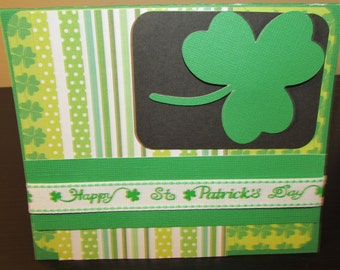 St. Patrick's Day handmade Greeting Cards
